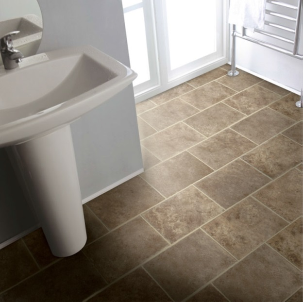 vinyl flooring in bathroom 5 flooring options for kitchens and bathrooms empire 21266