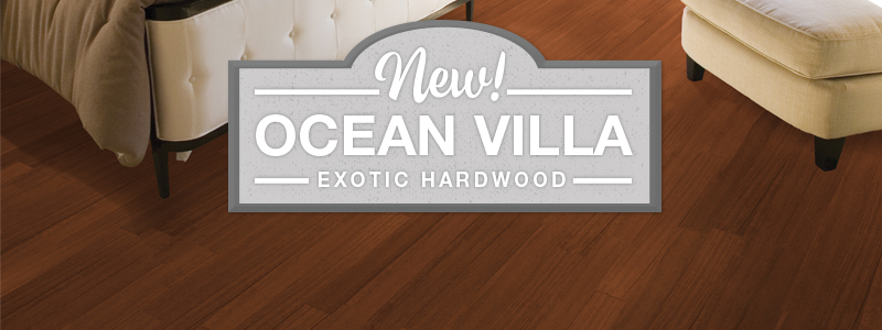 ocean villa hardwood
