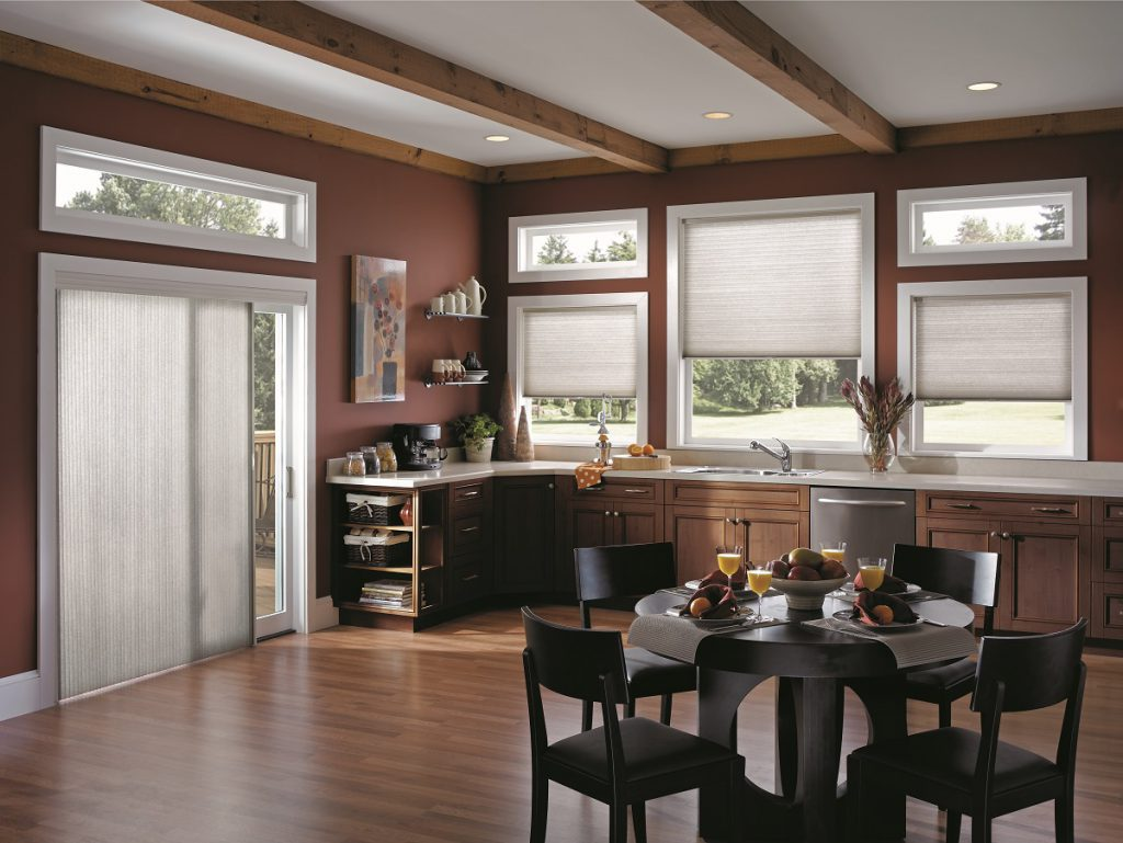 blinds and window treatments